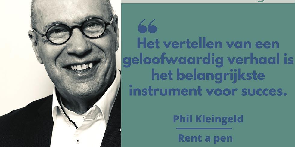 Clubhouse met Phil Kleingeld