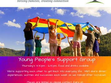 Young People's Support Group - Thursday @ 4.30pm