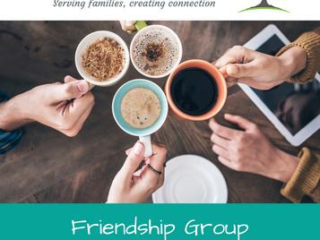 Friendship Group - Mondays, 5pm - 7pm