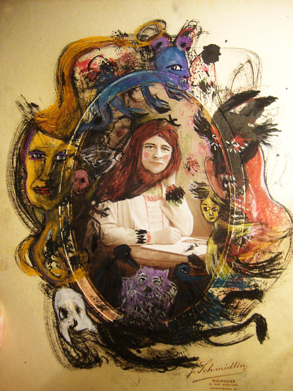 Autoportrait en rêveuse