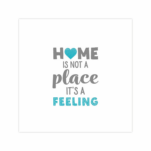 New Home Card - Feeling
