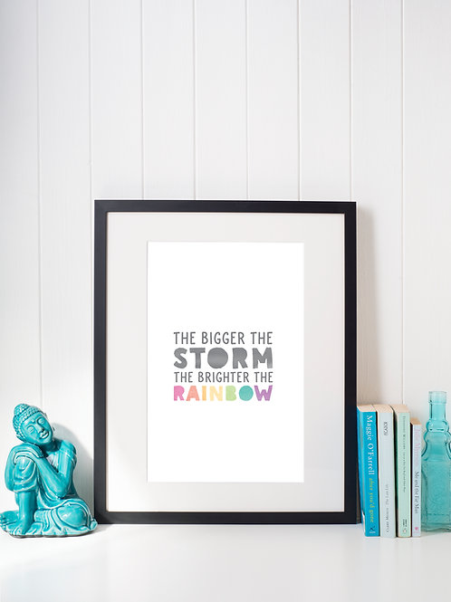 A4 art print - Storm