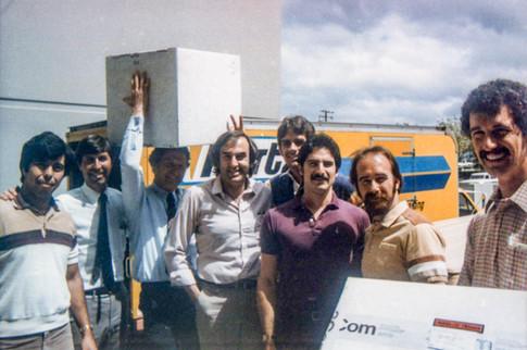 Shipping Product circa 1985