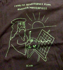 Renaissance Plan Tee in 1990