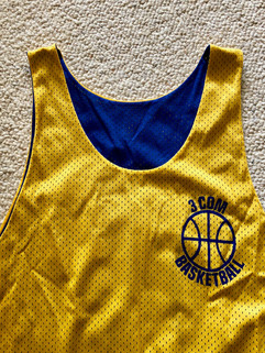 3Com Basketball Jersey