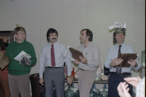 3Com IPO Celebration in 1984