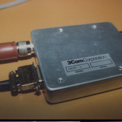 Transceiver Prototype Closed circa 1981