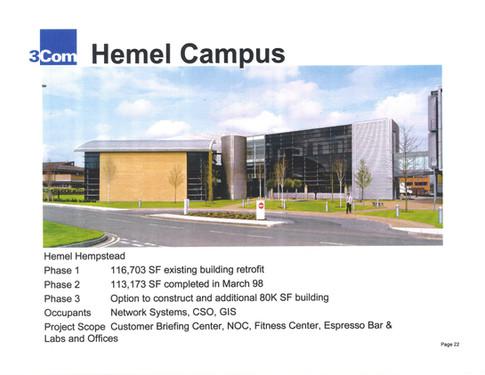 3Com's Hemel Campus