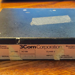 3C100 First Transceiver circa 1981