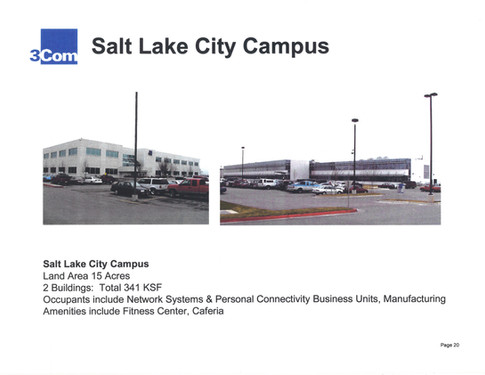 3Com's Salt Lake City Campus