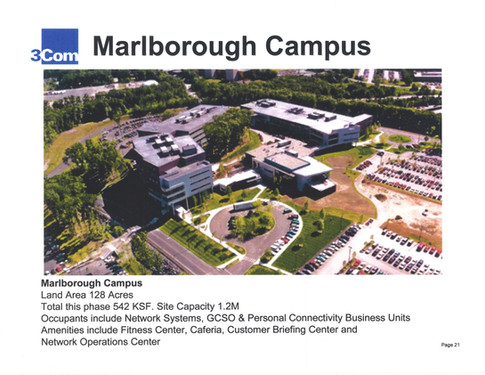 3Com's Marlborough Campus