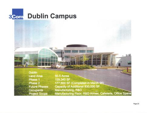 3Com's Dublin Campus