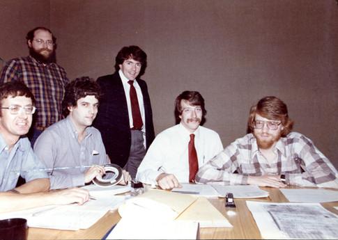A 3Com Meeting circa 1981