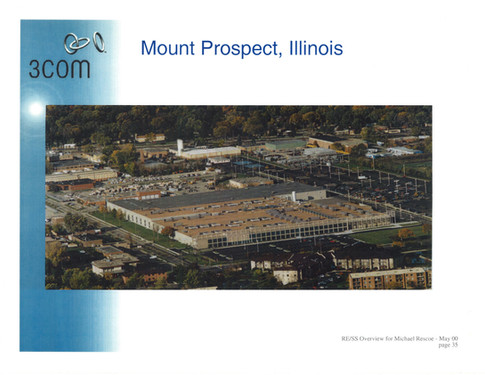 3Com in Mount Prospect, Illinois