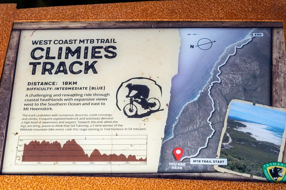Tasmania Parks SIGN
