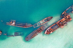 DJI_0071 Tangalooma wrecks from above.jp