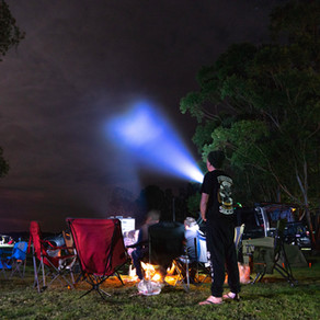 Myall River Campground, Hawks Nest, NSW