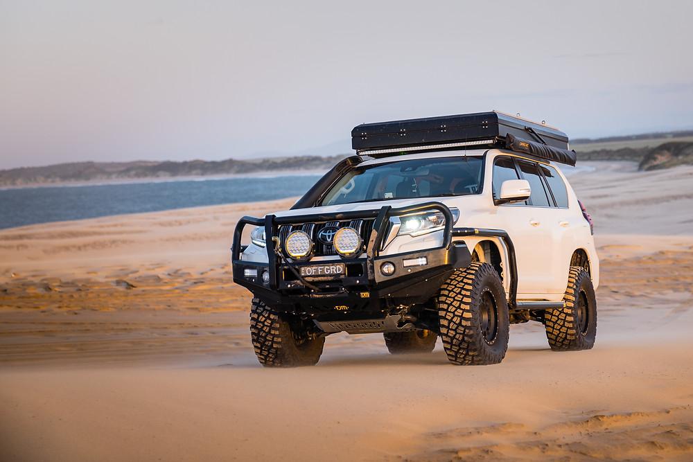Rolling sand dunes Tasmania Bellingham - Bridport
