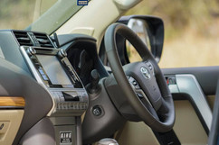 2018 Toyota Prado VX Beige Leather Interior