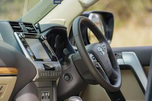 2018 Toyota Prado VX Beige Leather Interior