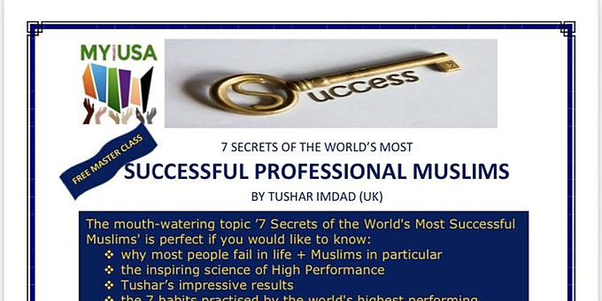 7 Secrets of the World's Most Successful Professional Muslims