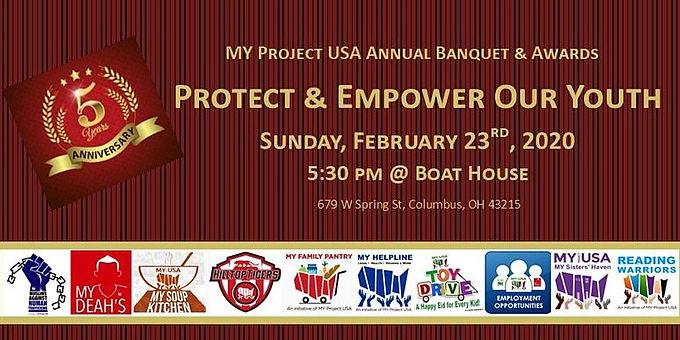 MY Project USA Annual Banquet & Awards 2020