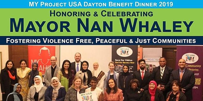 Honoring & Celebrating Mayor Nan Whaley - Annual Dinner 2019