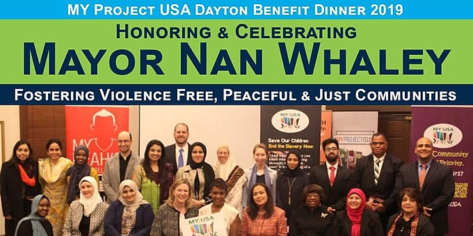 Honoring & Celebrating Mayor Nan Whaley - Annual Dinner 2019