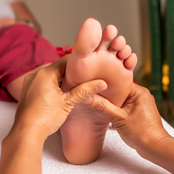 Fotsoneterapi med akupunktur