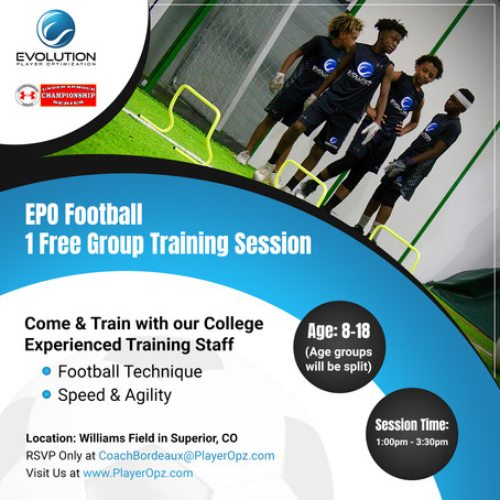First EPO Session Free Promotion