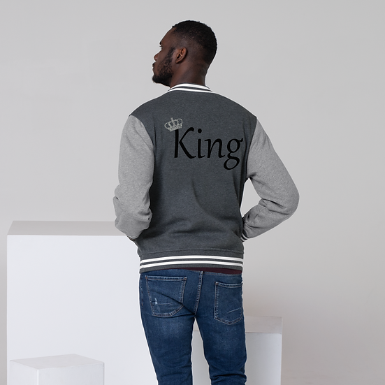 King's Letterman Jacket Black
