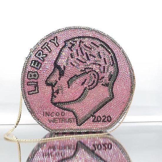 Diamond Money Clutch