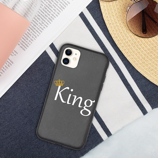 King's Biodegradable iPhone case
