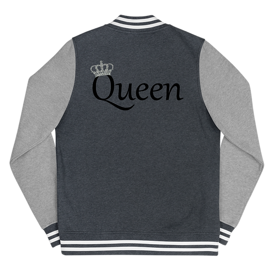 Queen's Letterman Jacket Black