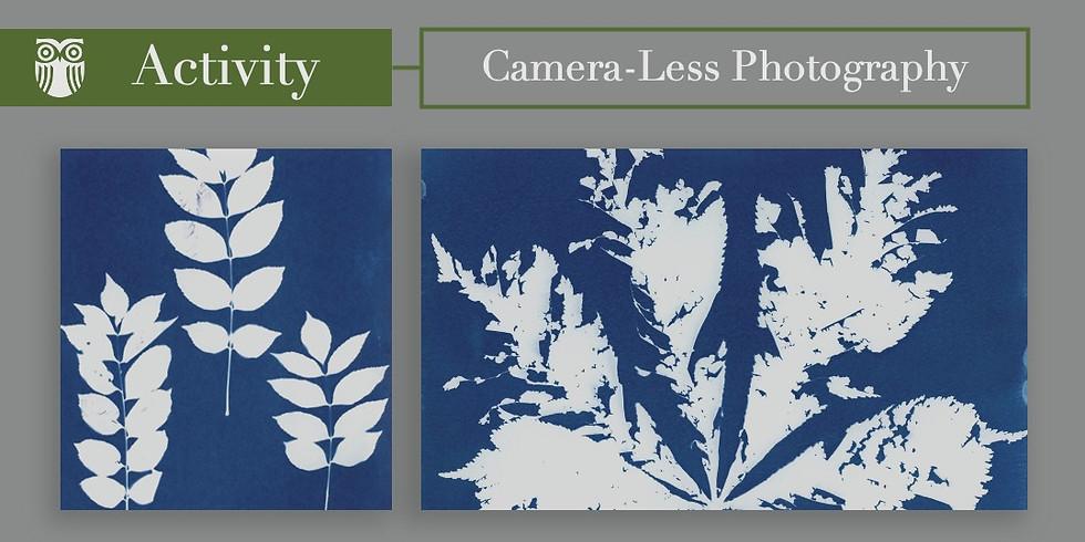 Cyanotype Camera-Less Photography
