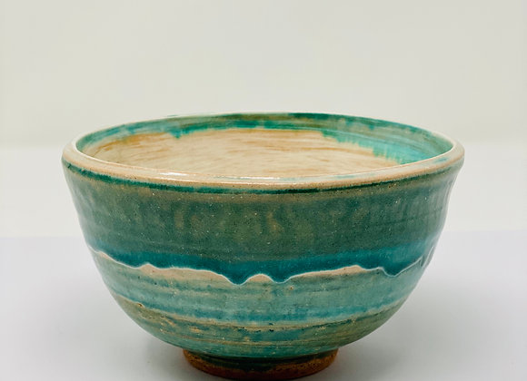 | Lisa Ingram | 1 Medium green drip bowl