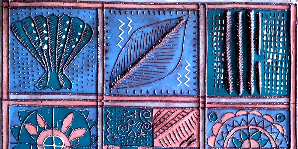 Joanna Veevers WORKSHOP - Make your own tiles