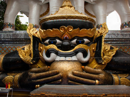Phra Rahu: The Lord of Darkness