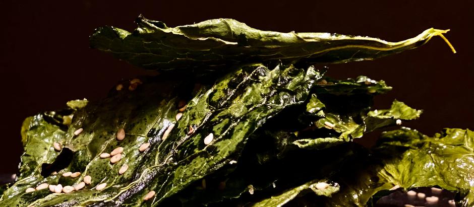 Chips de Kale con Sésamo