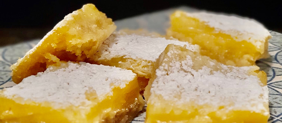Tartaletas de Limón o Lemon Squares