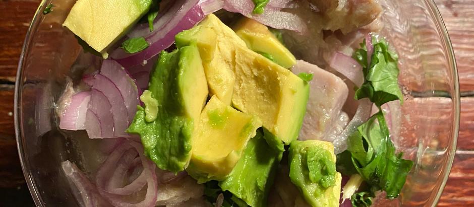 Ceviche de Atun / Tuna Ceviche