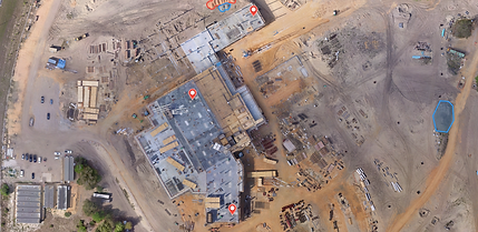 Drone Survey of Construction Site in Bristol