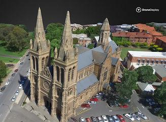 3D Image of Church, Bristol UAV Services
