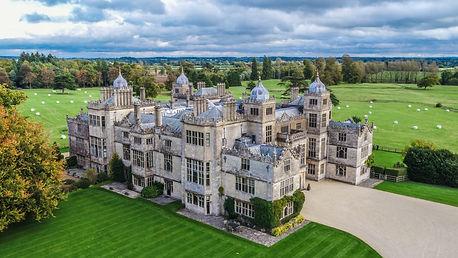 Image taken of Charlton Park House, Cirencester taken using Drone