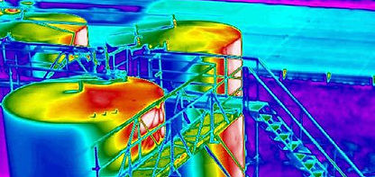Thermal Imagery using Drone in Swindon, Wiltshire