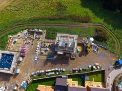 Construction Site Aerial Bristol