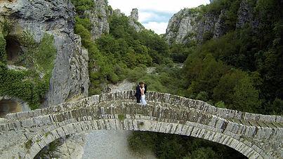 Aerial images taken using DJI Inspire 2 at a wedding near Bristol