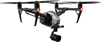 DJI Inspire 2 drone for inspections and photography in Bristol
