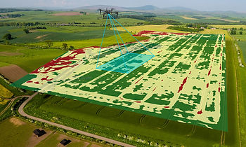 Drone Agricultural Thermal inspection Bristol