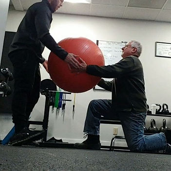 Half Kneeling perturbation drill for cor